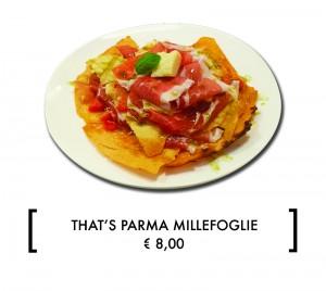 THAT'S PARMA MILLEFOGLIE