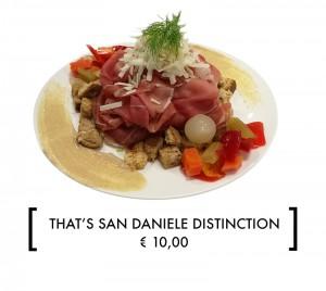 SAN DANIELE DISTINCTION